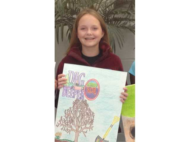 Kershaw Conservation District Poster contest winners