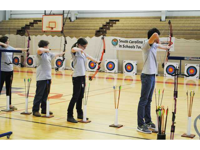 Stover, Blaney take first places in regional archery tournament