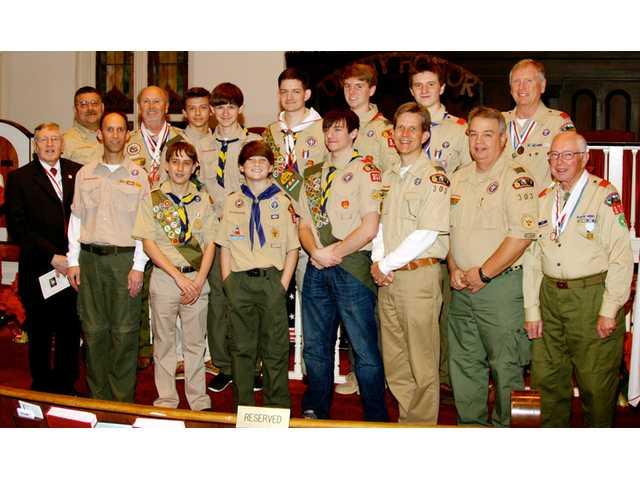 Eagle Scout celebration