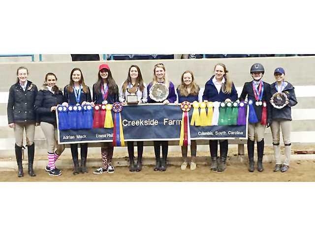 KC trio helps Creekside Farm take Zone 4 riding championship