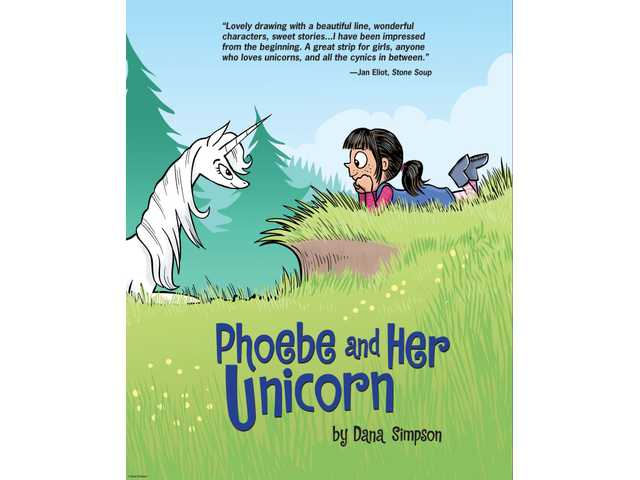 'Unicorns are everywhere': Cartoonist Dana Simpson shares lessons on friendship in comic strip 'Phoe