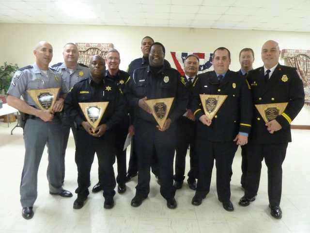 Legion honors firefighters and police officers
