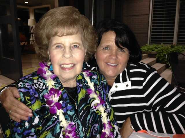 Daughter's love grows as she cares for elderly mom