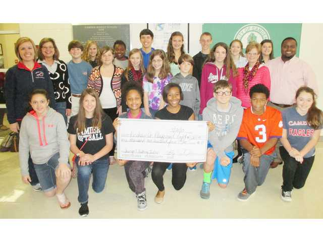 CMS Student Council raises money for Lugoff playground