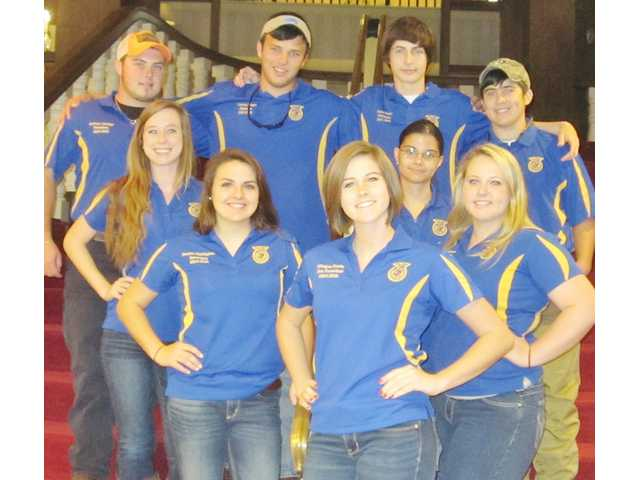 ATEC FFA chapter earns gold status