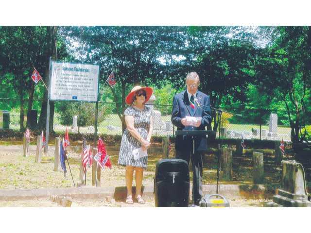 UDC, SCV conduct Confederate Memorial Day service