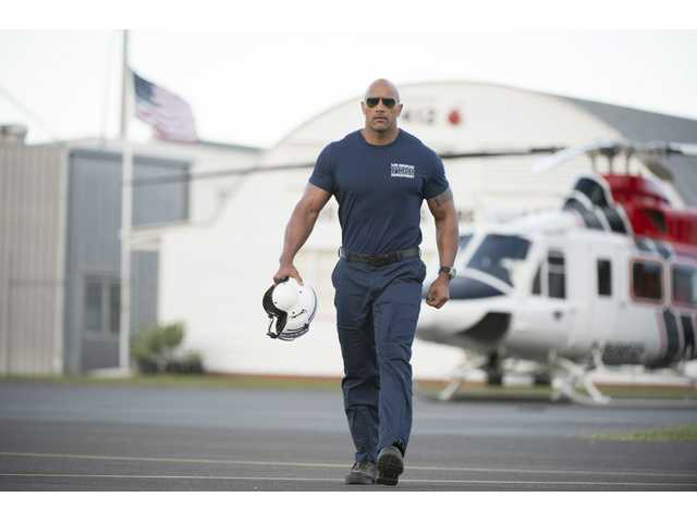 'San Andreas' levels California with B-movie mayhem
