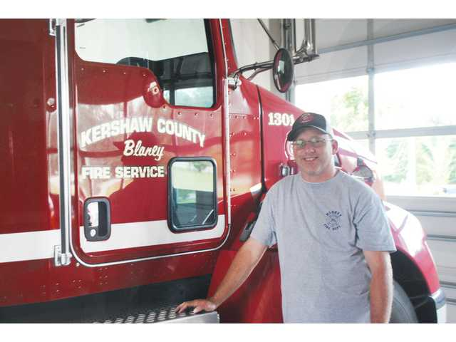Blaney Fire Chief Beck gives insight into the life of a firefighter