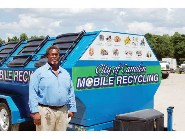 City s mobile recycling program underway - Recycling mobel ...