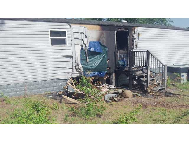 LF-R quickly stops June 22 Lugoff mobile home fire