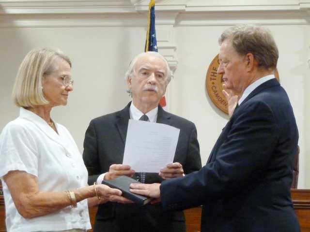 Carruth sworn in as Camden municipal judge
