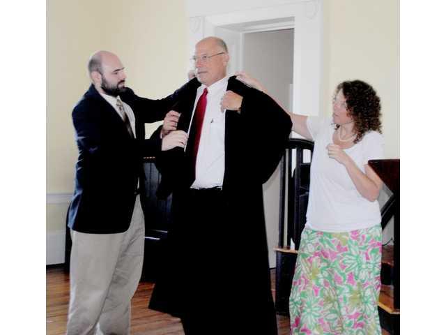 Funderburk sworn in as administrative court judge