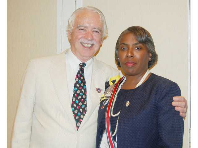 Hayes is Auxiliary president