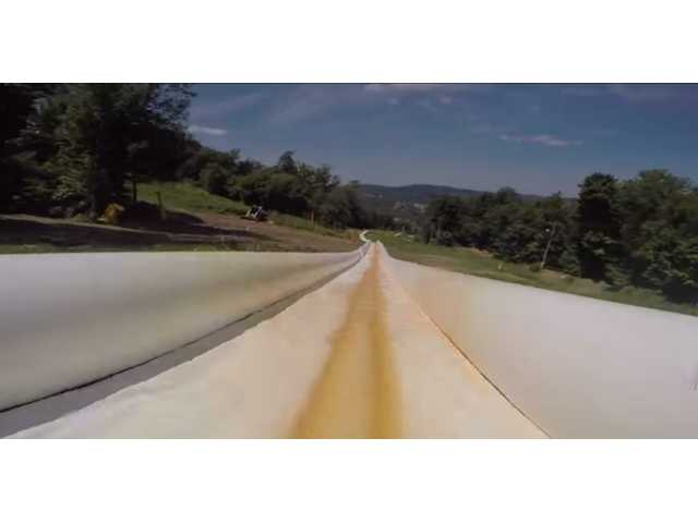 Have You Seen This? World's longest water slide
