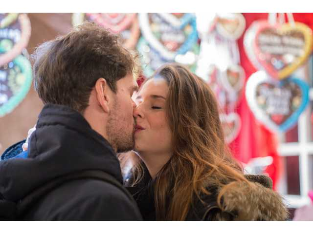 A kiss a day keeps the marriage counselor away