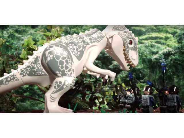 The Lego 'Jurassic World' is almost better than the original
