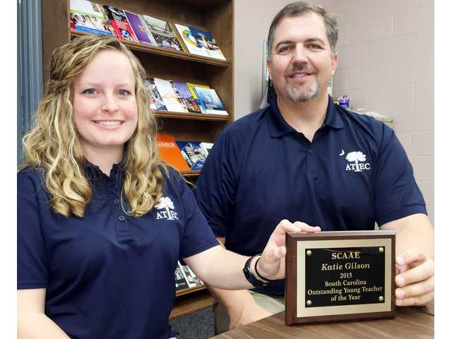 ATEC's Katie Gilson earns state and regional honors