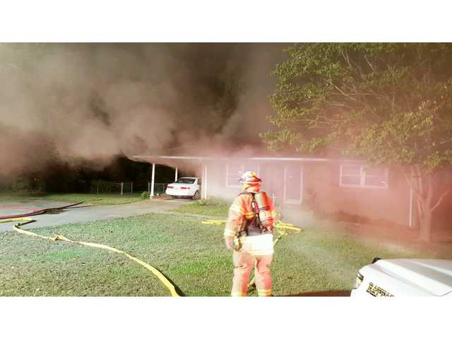 LF-R quickly douses another house fire