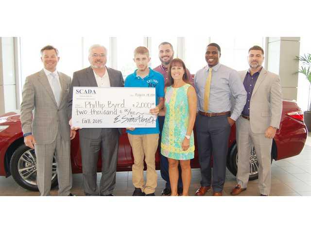 SCADA, Lugoff Toyota grant automotive scholarships