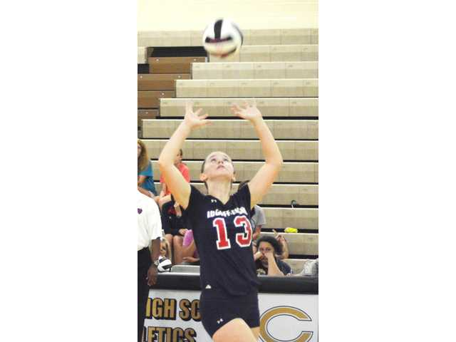 Lady Demons sweep Camden in three sets
