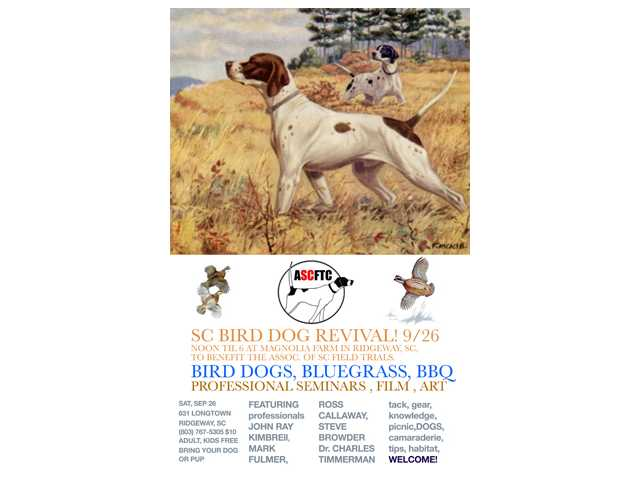Revival aims to try and help rekindle energy, enthusiasm in bird dog trials