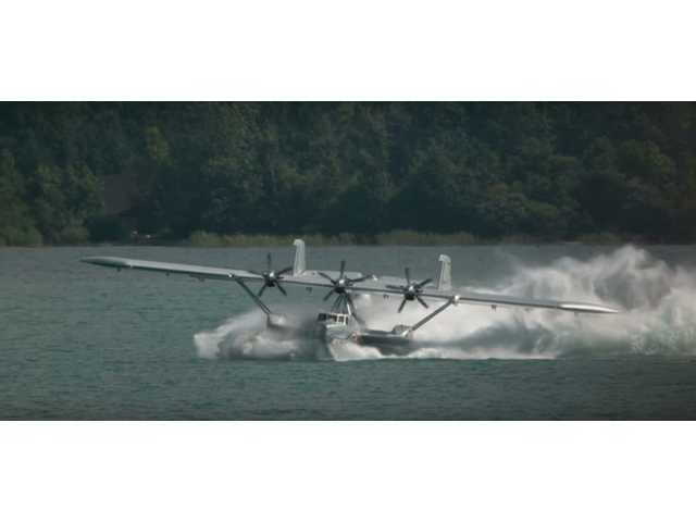 Have You Seen This? Spin landing a seaplane