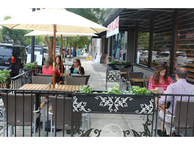 Sam Kendall's opens outdoor dining area