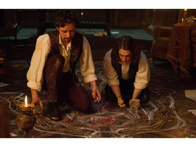 McAvoy vamps it up as the legendary mad scientist 'Victor Frankenstein'