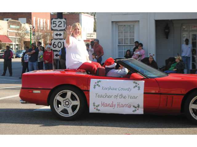 Kershaw County Christmas Parade marks county's start of holiday season