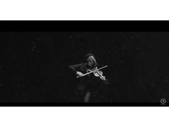 Lindsey Stirling featured in new music video, 'Dying for You'