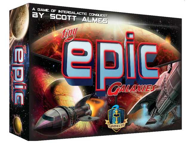 Game review: Tiny Epic Galaxies — so much game and too little time