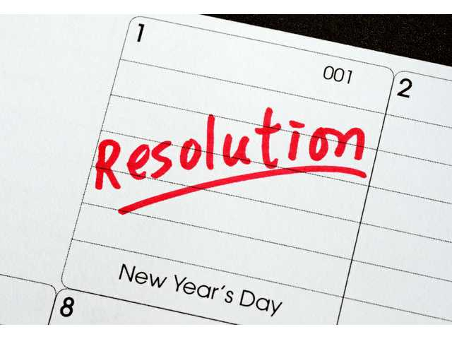 Resolutions: Easy to make, tough to keep