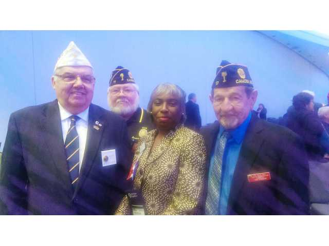 Area resident advocates for veterans at Washington, D.C. conference