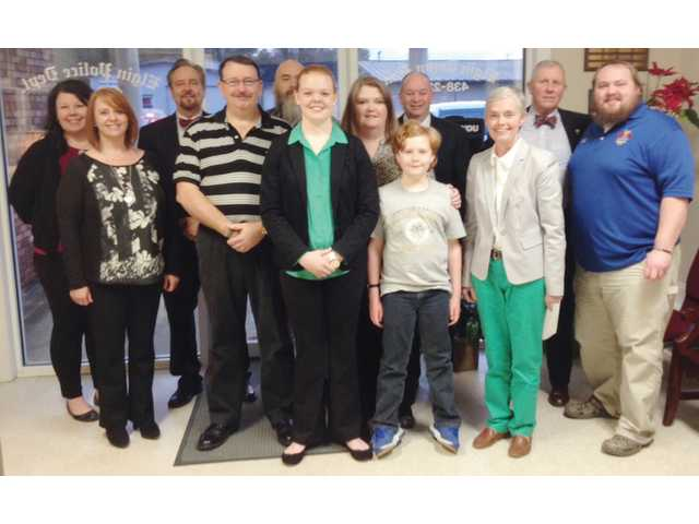 L-EHS valedictorian honored by Elgin Town Council