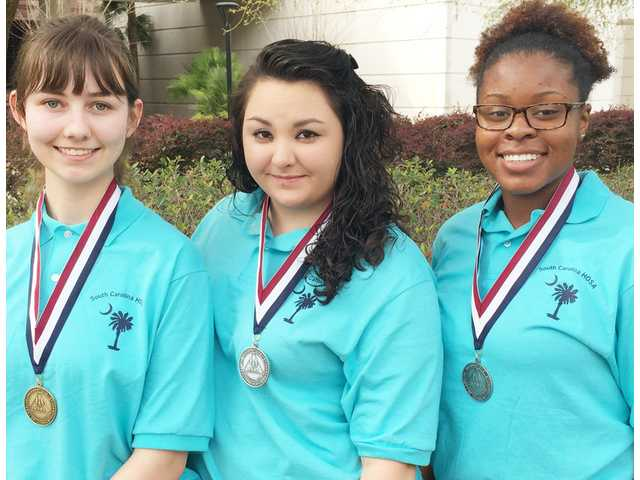 ATEC students win honors at SC HOSA conference
