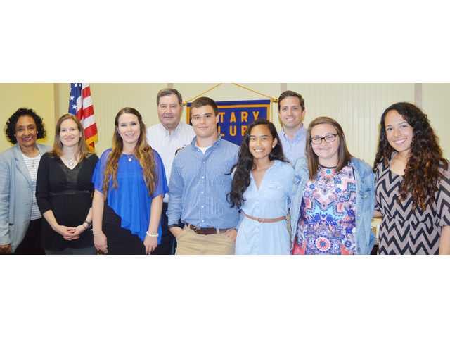 Rotary scholars
