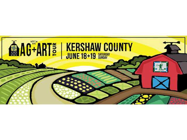 Kershaw County on 2016 S.C. Ag + Art Tour in June