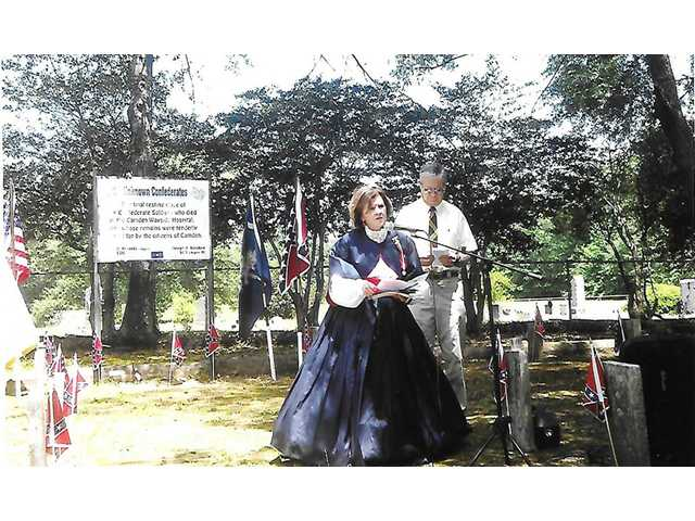 Ceremony honors Confederate soldiers