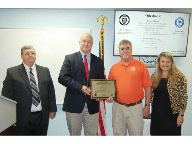 ALPHA Center's Wright receives Youth Arbitrator of the Year award