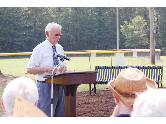 Doyle Allen honored with legacy leadership bench