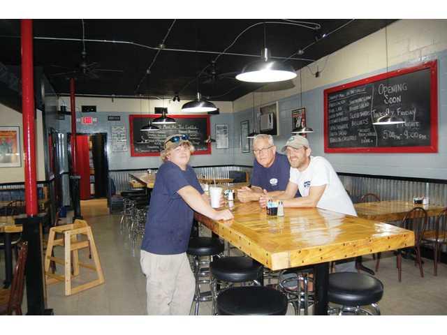 Family venture, family feel; Haile Street Grille reopens