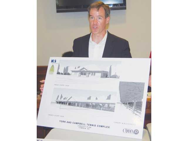 City moving forward with tennis complex planning
