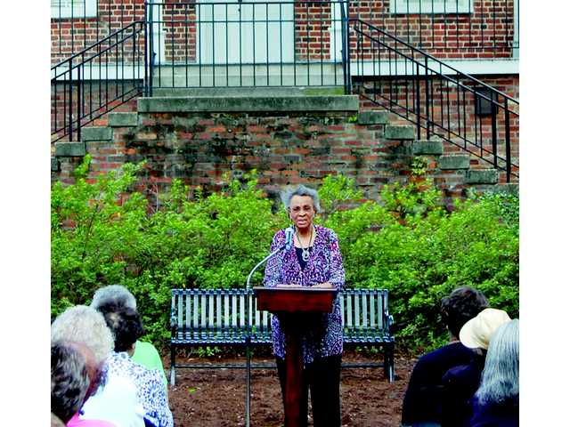 Vivian Metze honored with Leadership Legacy Bench
