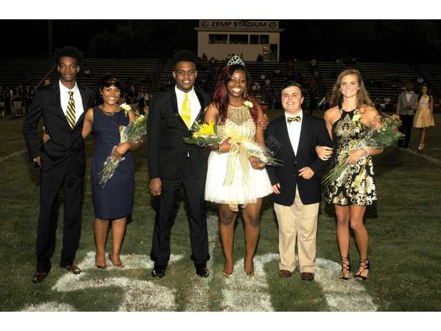 CHS 2016 Homecoming Court