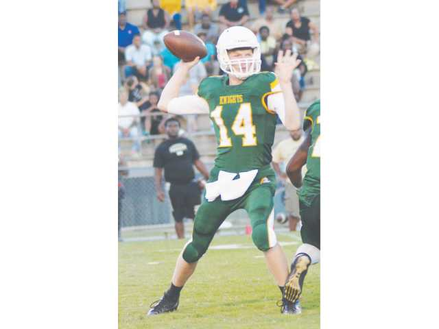 Cheraw storms past Knights, 48-12