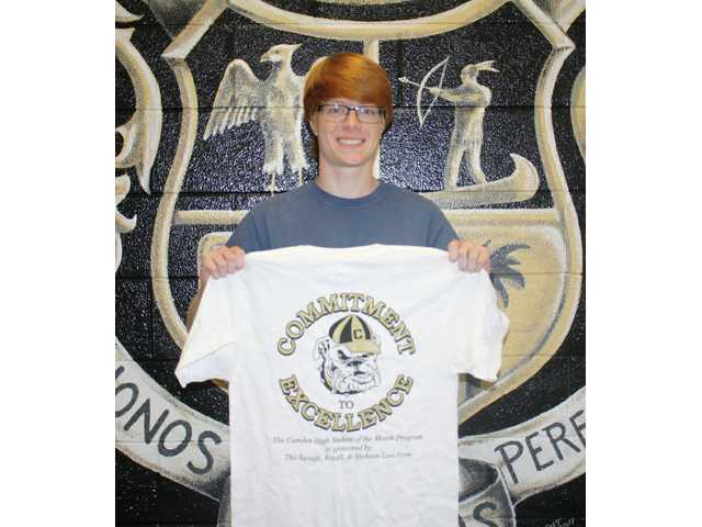 Camden High School's September Students of the Month