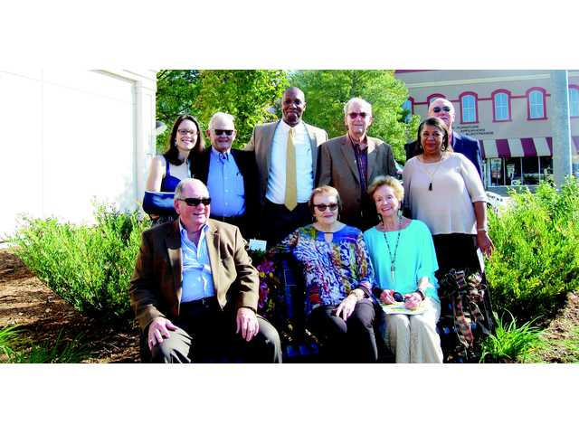 Mary Y. Clark legacy bench dedication