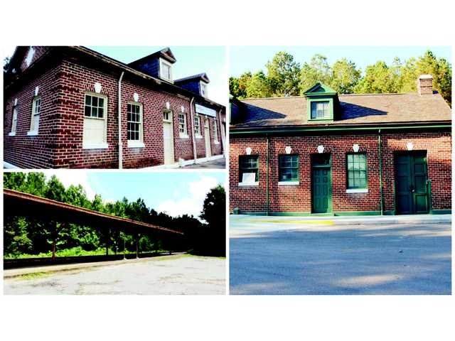 City celebrates train station rededication