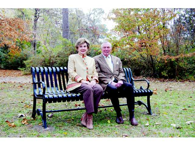Sullivans honored with Leadership Legacy Bench