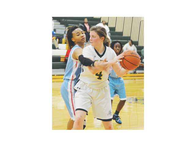 Lady Knights run out of gas in being dealt 54-40 setback